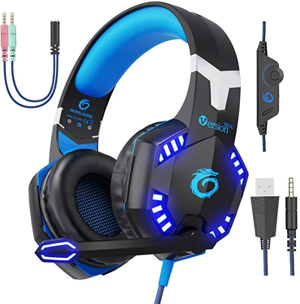 Screenshot 2020 03 12 Amazon com VersionTECH G2000 Pro Gaming Headset PS4 Xbox One Wired Headphones with 3D Surround Sound... - BEST HOT TRENDS