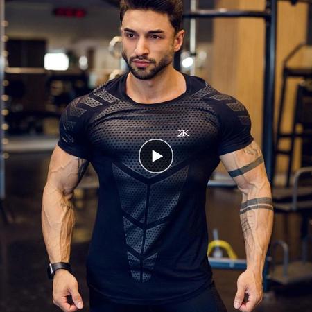 Screenshot 2020 03 12 US 6 88 47 OFF Compression Quick dry T shirt Men Running Sport Skinny Short Tee Shirt Male Gym Fitn... - BEST HOT TRENDS