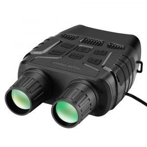 Night Vision Device Binoculars 300 Yards Digital IR Telescope Zoom Optics with 2.3′ Screen Photos Video Recording Hunting Camera